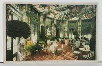 WV The New Greenbrier Wistaria Room White Sulphur Springs Postcard M6