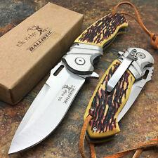 Elk Ridge Liner lock A/O Stainless Ballistic Hunting Camping Pocket Knife