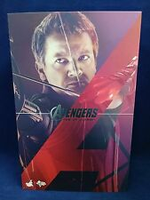 1/6 Hot Toys Age Of Ultron Hawkeye MMS289 Empty Box With Plastic Inserts