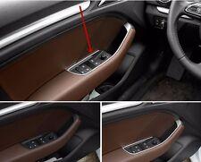 Stainless Steel Interior Door Armrest Panel Decal Trim 4pcs for Audi A3 8V 12-15