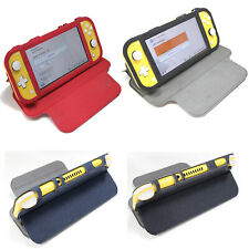 Game Console Leather Case Shockproof Flip Cover for Nintend Switch Lite Console