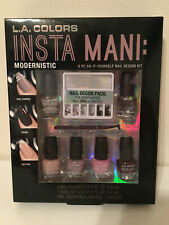 L.A. Colors Insta Mani: Modernistic 8PC Do it Yourself Nail Design kit