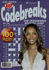 Just Code-breaks. 100 Crosswords Without Clues. Over 100 Puzzles
