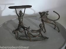 Ensemble de petits bronzes africains anciens