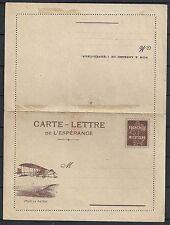 France  Carte Lettre de L'Espérance not sent