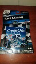 KYLE LARSON 2019 CREDIT ONE LIQUID COLOR 1:64 NASCAR AUTHENTICS DIECAST