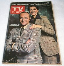 TV GUIDE ~ THE BOB NEWHART SHOW w/ SUZANNE PLESHETTE Cover ~ JAN 1973 / Philly