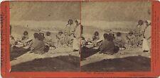 C.P.R.R Hart/Watkins series # 342 Shoshone indians 1860's