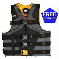 Stearns 2XL/3XL Infinity Antimicrobial Mens Life Jacket Wakeboard Vest XXL XXXL