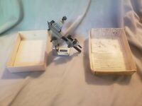 Vintage General Hardware No. 825 Drill Grinding Attachment w/ Original Box