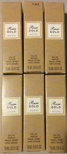 Avon Rare Gold Eau De Toilette Spray Travel Size 0.5 Fl Oz New Lot Of 6