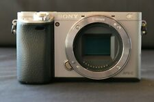 Sony Alpha a6000-Body only-Silver, Exellent Condition, 2,367 Exposures
