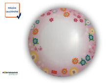 LED Kinderzimmerlampe rund hübsche Blümchen Deckenlampe für Kinderzimmer Mädchen