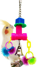 1934 Tugtug Bird Toy Parrot cage Craft Toys Cages Cockatiel Budgie Lovebird
