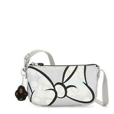 Kipling Disney's Minnie Mouse and Mickey Mouse Clementine Crossbody Bow