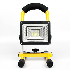24 LED 30W LED Flood Light Outdoor Waterproof Rechargeable Blue&Red Strobe Lamp