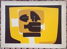 Luis Hernandez Cruz Serigraph Print Serie Signos Abstract Art Puerto Rico 1976