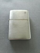 VINTAGE 1958 BRUSHED CHROME ZIPPO LIGHTER – VERY CLEAN INSERT