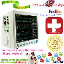 FDA,CE CONTEC CMS8000 VET Veterinary Patient Monitor,ECG/NIBP/SPO2/RESP/TEMP/PR