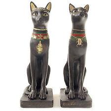 2er Set BASTET ägyptische Dekofigur Höhe 20 cm  Katze Ägypten Altägypten