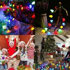 US Christmas LED Light Up Necklace ideas Necklace Jewelry Bulb Party Gift