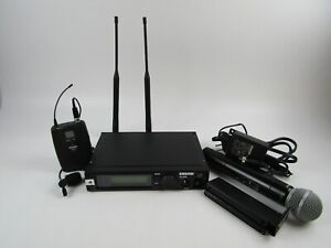 Shure ULXP4 Wireless Receiver w/ Wireless Microphone, Bodypack Transmitter