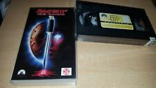 Friday the 13th Part 7 - The New Blood - uncut NL Tape - Neu & OVP VHS - ab 18