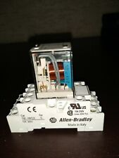 Allen Bradley 700-HC14Z24 Series D Relay 24VDC w/ 700-HN103 Series C Base