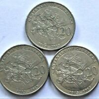 🇦🇺3x 2013 Australian 20 Cent Coins Centenary Of Canberra Low Mintage FREE Post