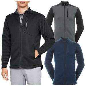 Under Armour Mens Storm Daytona Full Zip Golf Jacket Water Resistant Insulated