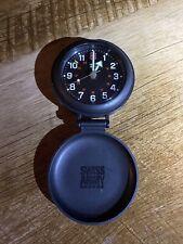 Vintage Victorinox Swiss Army Travel Alarm Clock ~  ~ Very LighUsed Condition