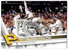 ⚾️ 2017 ~ Topps #472 ~ Pittsburgh Pirates TC ~ NmMt=8