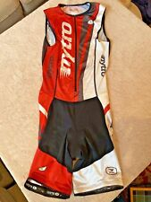 Sugoi Cycling Padded Triathlon Skinsuit Singlet, Womens Medium