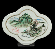 China 19. Jh. Porzellan Tafel -A Chinese Porcelain Plaque - Chinois Cinese Chino
