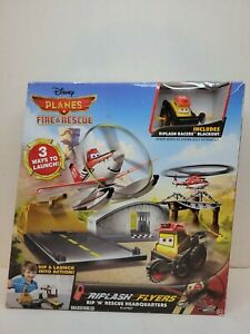 Disney Planes Fire & Rescue Riplash Flyers Rip 'N' Rescue Headquarters Playset