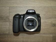 Canon EOS 70D 20.2MP Digital DSLR Camera Corpo non testate Ricambi Riparazione Parti