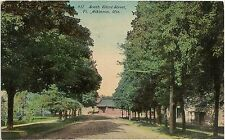South Third Street in Fort Atkinson WI Postcard 1911