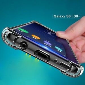 360° CLEAR TPU Case Shockproof back case Cover For Samsung Galaxy S8 plus