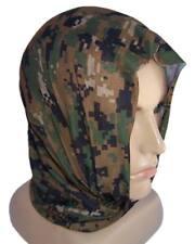 Pañuelo bandana gorro Multifunción camuflaje Woodland digital Marpat