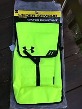 NWT Under Armour Storm Tech Pack Backpack High-Vis Yellow Sport Bag