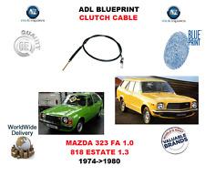 per MAZDA 323 FA 1.0 818 Familiare 1.3 1974-1980 Nuovo ADL CAVO FRIZIONE