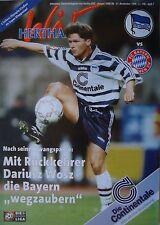 Programm 1998/99 Hertha BSC Berlin - Bayern München