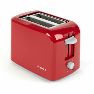 Bosch TAT3A014GB Village Two-Slice Toaster, Red