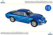 Alpine Renault A110 1600S 1971 Blue   NOREV - NO 185300 - Echelle 1/18 NEWS