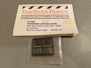 HO Train Station Products Kit #408 Passenger Car End Gates New (NOS)