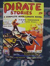 Pirate Stories March 1935 Pulp Magazine Reprint