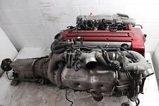 JDM 97 01 TOYOTA ARISTO 2JZ-GTE VVTI ENGINE WITH AUTOMATIC TRANS TWIN TURBO 2JZ
