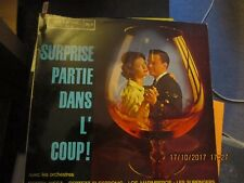 LP V.A. Surprise partie dans l'coup FRENCH 60s INSTRO SURF TWIST GUITAR SAX 33T