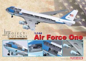 1/144 Air Force One Boeing VC-25A (747-200B) - Bush Clinton Obama Trump Biden