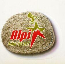 Autocollant ALPI BIKE RESORT - VTT - Sticker Collector des Années 2000